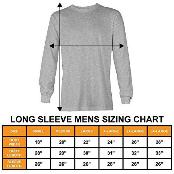 Tcombo Graphic Tshirt 3 Distressed Black USA Flag - United States Unisex Long Sleeve Shirt