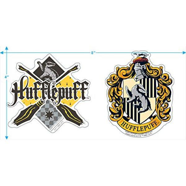 Popfunk Graphic Tshirt 3 Harry Potter Hufflepuff Logo Adult Longsleeve T Shirt & Stickers