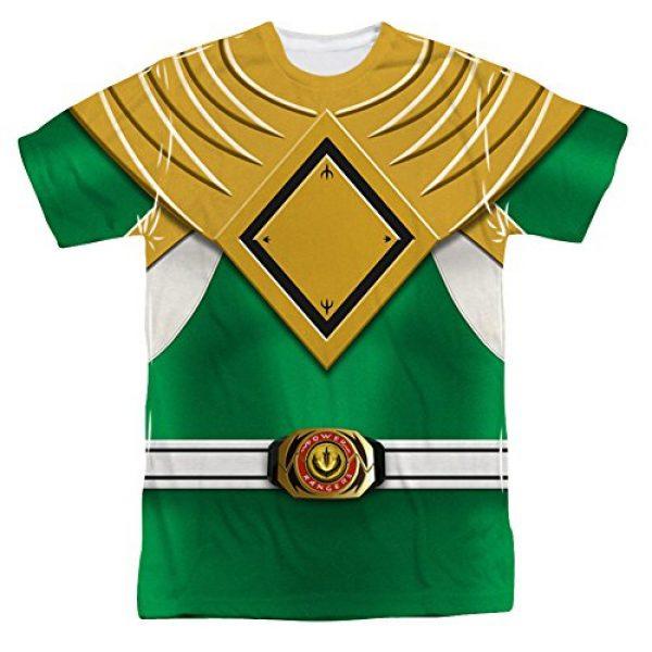 Power Rangers Graphic Tshirt 1 Men's T-shirt Green Ranger