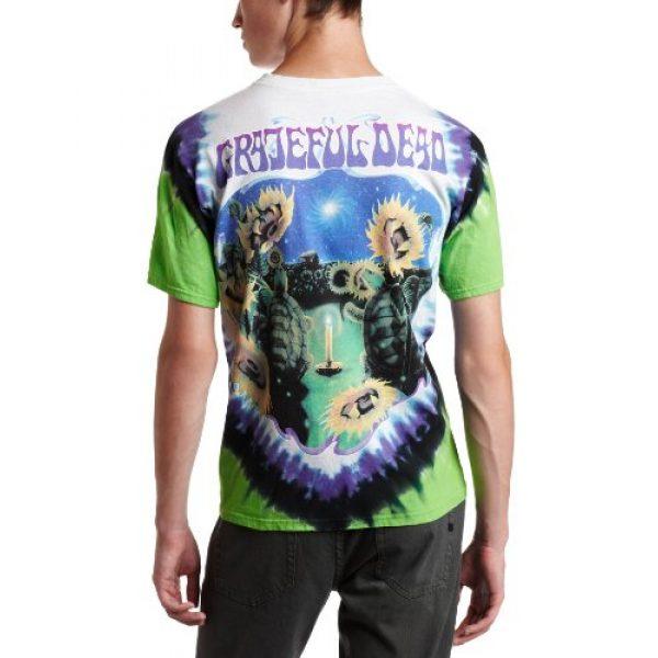 Liquid Blue Graphic Tshirt 2 Men's Grateful Dead Sunflower Terrapin Tie Dye T-Shirt