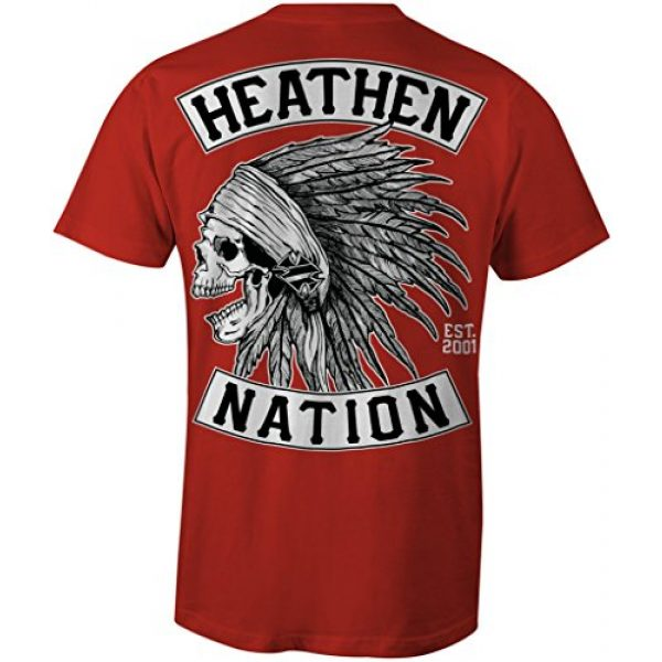 Heathen Graphic Tshirt 1 Red Chief T-Shirt