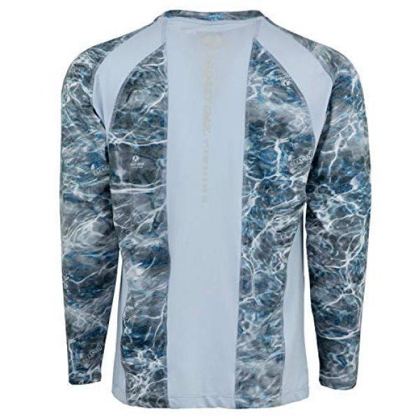 Mossy Oak Graphic Tshirt 2 HUK Mossy Oak Double Header Vented Fishing Long Sleeve Shirt, Mossy Oak Hydro Reflex, L