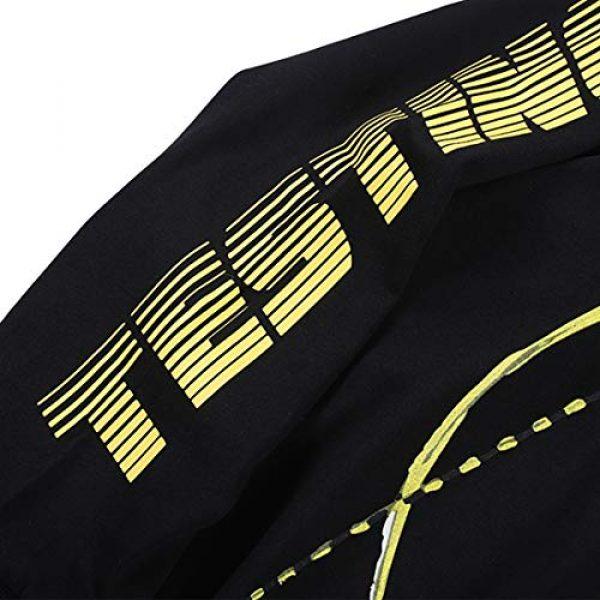 NAGRI Graphic Tshirt 6 ASAP Rocky Testing Long Sleeve Tshirt Injured Generation Tour Hip Hop Letter Printed Graphic Hoodie Black