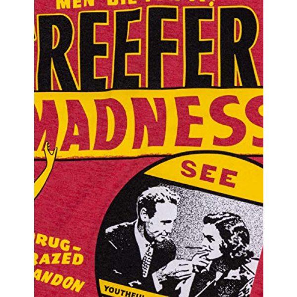 Ann Arbor T-shirt Co. Graphic Tshirt 5 Reefer Madness (1936 Poster) | Funny Absurd Vintage Drug War Marijuana Weed Pot Propaganda Men Women T-Shirt
