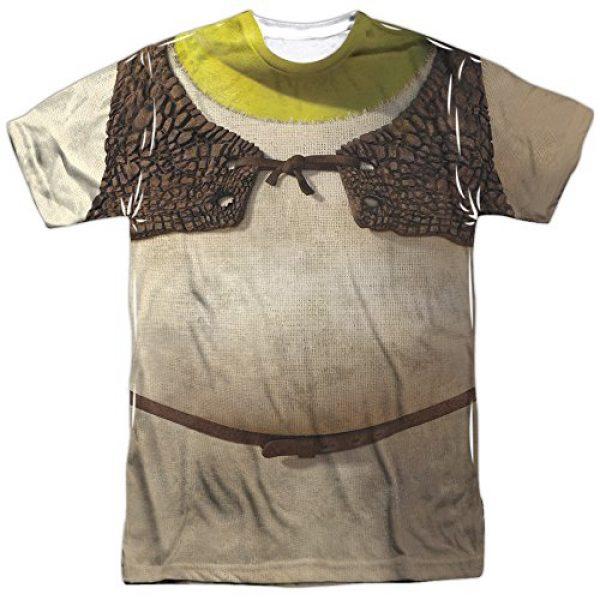 Shrek Graphic Tshirt 2 Animated Family Comedy Movie Ogre Costume Adult Front Print Tshirt