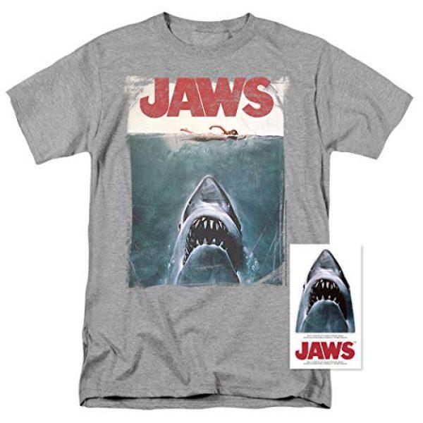 Popfunk Graphic Tshirt 2 Jaws Shark Original Movie Poster T Shirt & Stickers