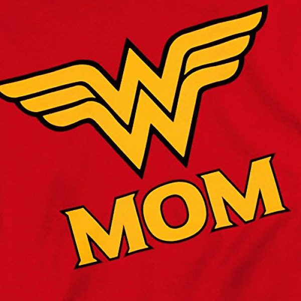 Popfunk Graphic Tshirt 5 Wonder Woman Wonder Mom DC Comics T Shirt & Stickers