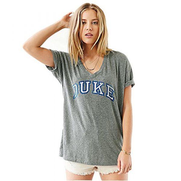 FV RELAY Graphic Tshirt 3 Women's Duke Printed Casual Tee Tops Short Sleeve V-Neck T Shirts for Teen Girls