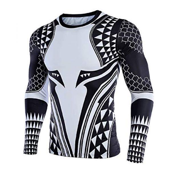 GYM GALA Graphic Tshirt 2 Aquaman Shirt Men's 3D Printed Compression Shirt
