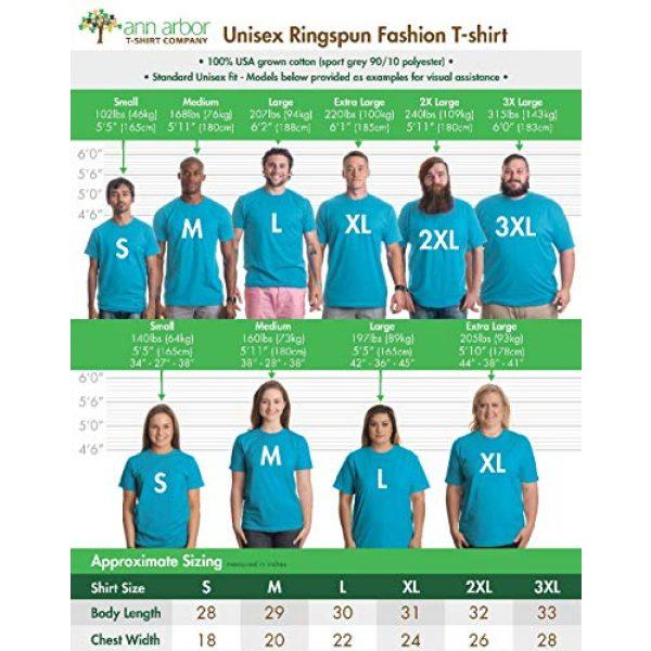 Ann Arbor T-shirt Co. Graphic Tshirt 6 Shark Species | Ocean Week Fan Theme Birthday Party Dad Mom Men Women T-Shirt