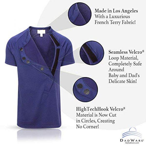 DadWare Graphic Tshirt 2 Bondaroo Skin to Skin Kangaroo Care Bonding tee Shirt for New New Dad