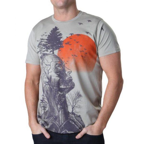 Junk Food Graphic Tshirt 2 Hangover Human Tree T-Shirt