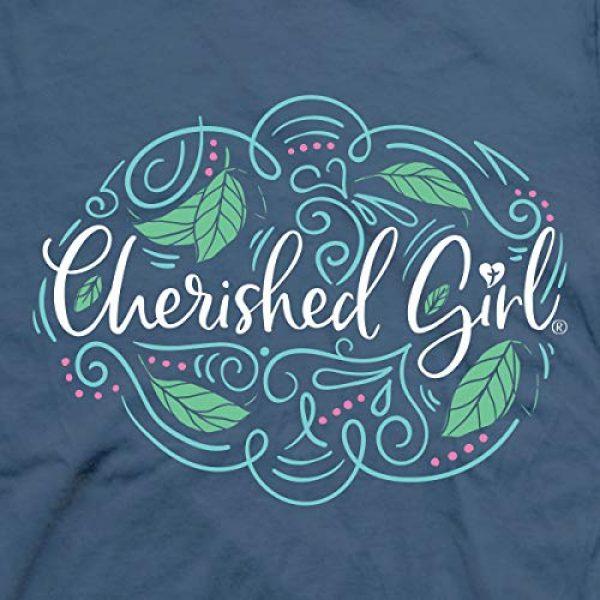 Cherished Girl Graphic Tshirt 4 Women's Trust in The Lord T-Shirt - Indigo -