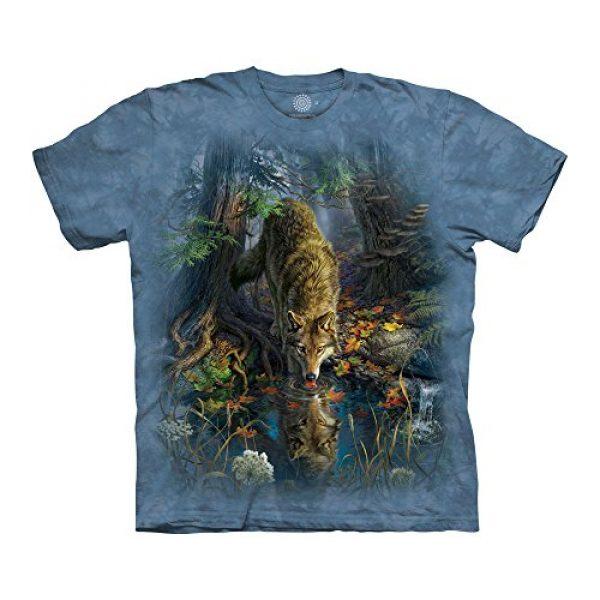 The Mountain Graphic Tshirt 1 Men's Enchanted Wolf Pool T-Shirt