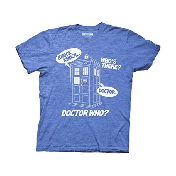 Doctor Who Graphic Tshirt 1 Ripple Junction Knock Knock Adult T-Shirt