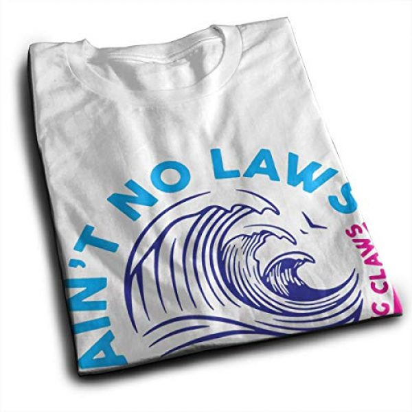 LEONNER Graphic Tshirt 2 Ain't No Laws When You're Drinking Claws Men's T-Shirt
