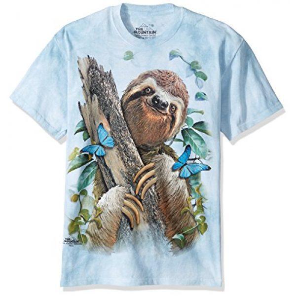 The Mountain Graphic Tshirt 1 Sloth & Butterflies T-Shirt