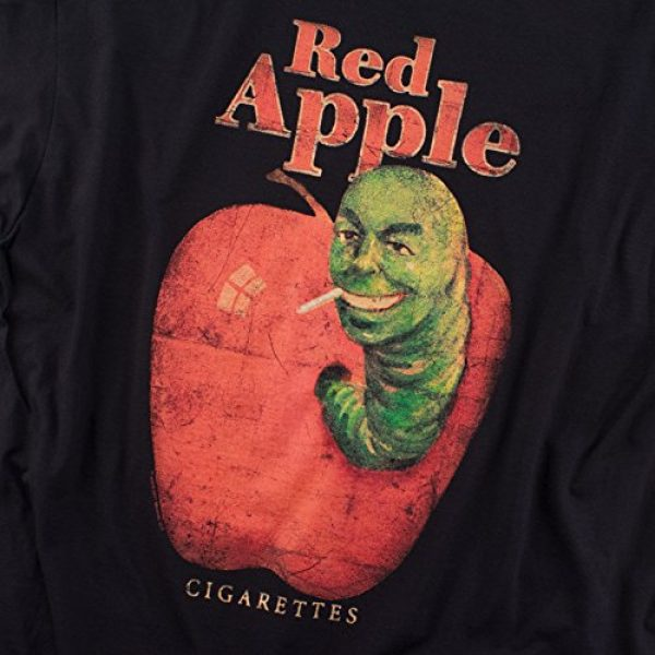 Popfunk Graphic Tshirt 5 Pulp Fiction Movie Red Apple Cigarettes T Shirt & Stickers