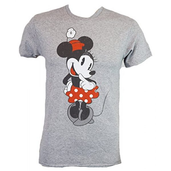 Disney Graphic Tshirt 1 Shy Minnie Mouse Graphic Tee Classic Vintage Disneyland World Adult Tee Graphic T-Shirt for Men Tshirt Clothes Apparel