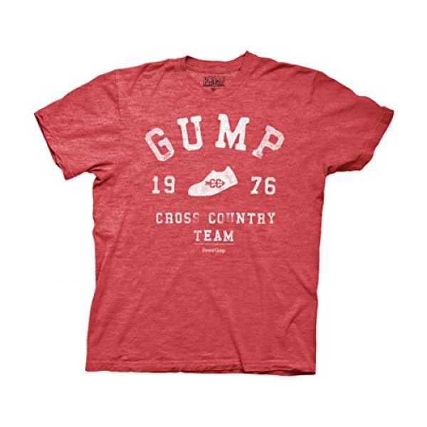 Ripple Junction Graphic Tshirt 1 Forrest Gump Cross Country Adult T-Shirt