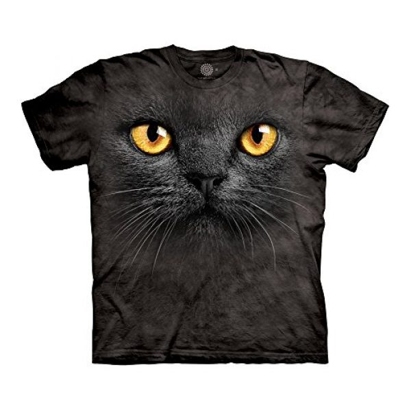 The Mountain Graphic Tshirt 1 Big Face Black Cat