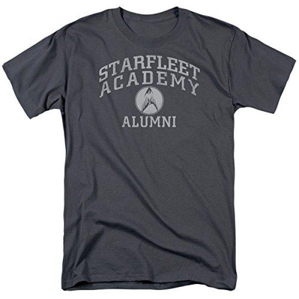STAR TREK Graphic Tshirt 3 Alumni - Starfleet Academy Adult T-Shirt
