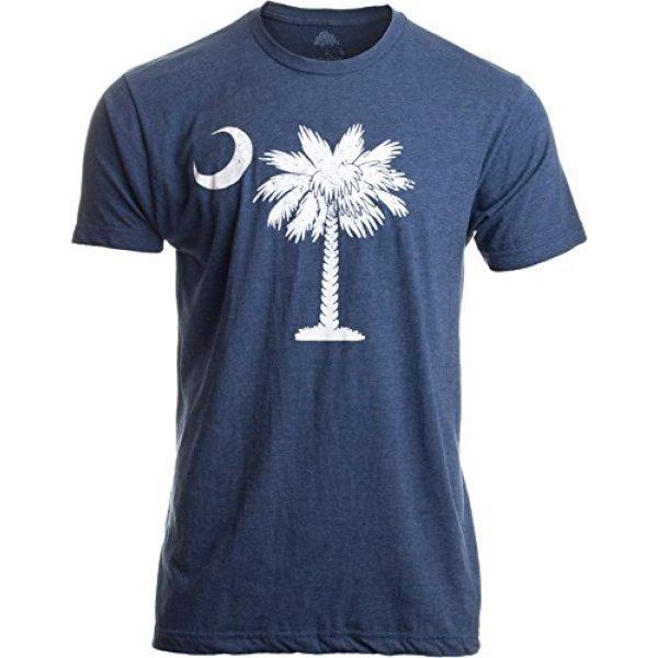 Ann Arbor T-shirt Co. Graphic Tshirt 1 South Carolina Flag | Palmetto Moon Carolinian SC Charleston Men Women T-Shirt