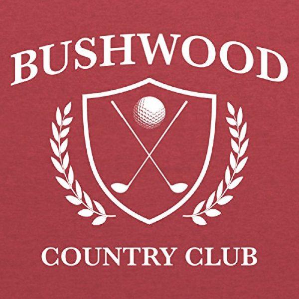 UGP Campus Apparel Graphic Tshirt 2 Bushwood Country Club - Funny Golf Golfing T Shirt