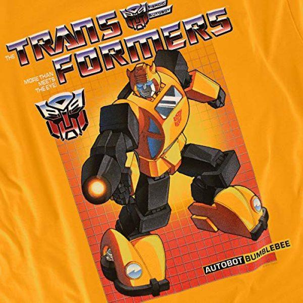 Popfunk Graphic Tshirt 5 Transformers Bumblebee T Shirt & Stickers