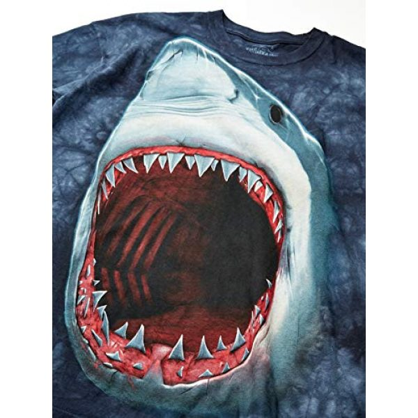 The Mountain Graphic Tshirt 2 Mens Shark Bite Short Sleeve Tee