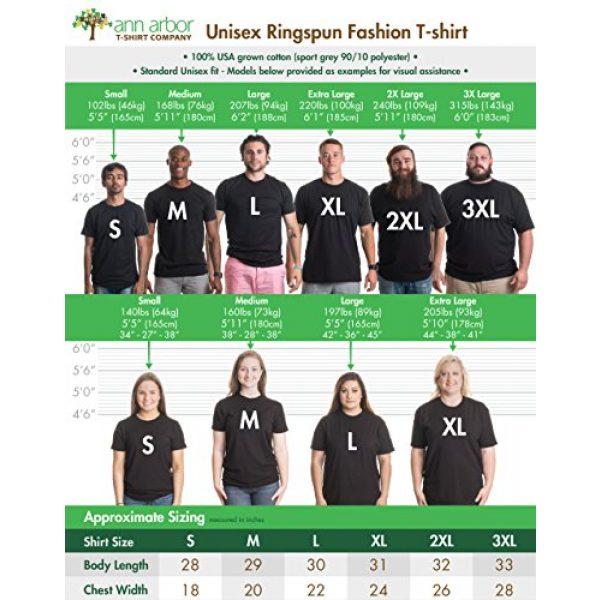 Ann Arbor T-shirt Co. Graphic Tshirt 6 Wolf Shadow Puppet   Unique Moon Outdoor Hike Camp Funny Fun Men Women T-Shirt