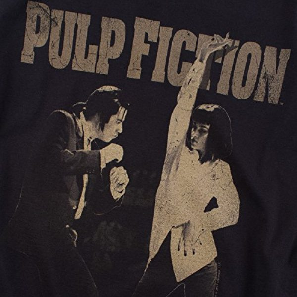 Popfunk Graphic Tshirt 5 Pulp Fiction Movie Uma Thurman John Travolta T Shirt & Stickers