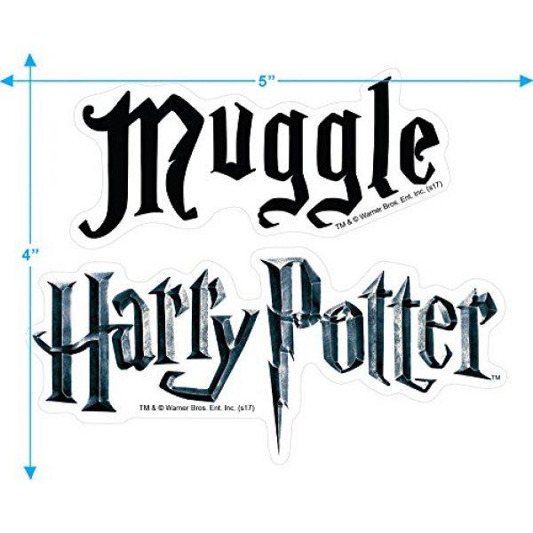 Popfunk Graphic Tshirt 3 Harry Potter Black Muggle T Shirt & Stickers