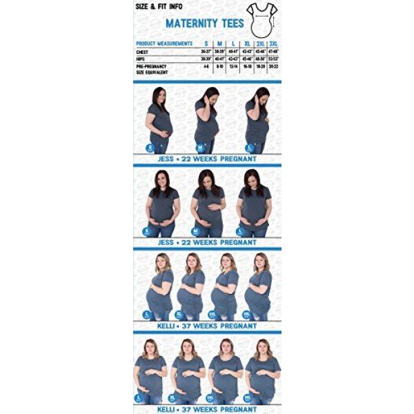 Crazy Dog T-Shirts Graphic Tshirt 3 Maternity Santas Got Nothing On This Belly Pregnancy Tshirt Funny Christmas Bump