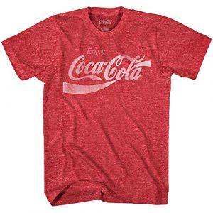 Coca-Cola Graphic Tshirt 1 Coke Classic Vintage 80's Adult Logo T-Shirt