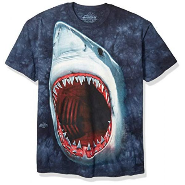 The Mountain Graphic Tshirt 1 Mens Shark Bite Short Sleeve Tee