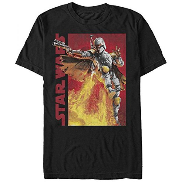 Star Wars Graphic Tshirt 1 Men's My Backpack's Got Jets Graphic T-Shirt
