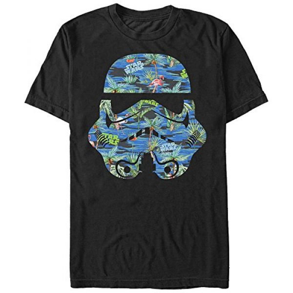 Star Wars Graphic Tshirt 1 Men's Hula Helmet Graphic T-Shirt