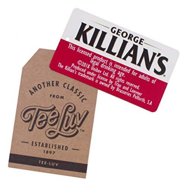 Tee Luv Graphic Tshirt 4 George Killian's Beer T-Shirt - Killians Irish Red Premium Lager Shirt