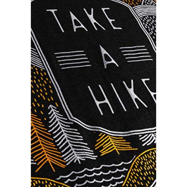 Ann Arbor T-shirt Co. Graphic Tshirt 5 Take a Hike | Outdoor Nature Hiking Camping Graphic Saying for Women T-Shirt Top