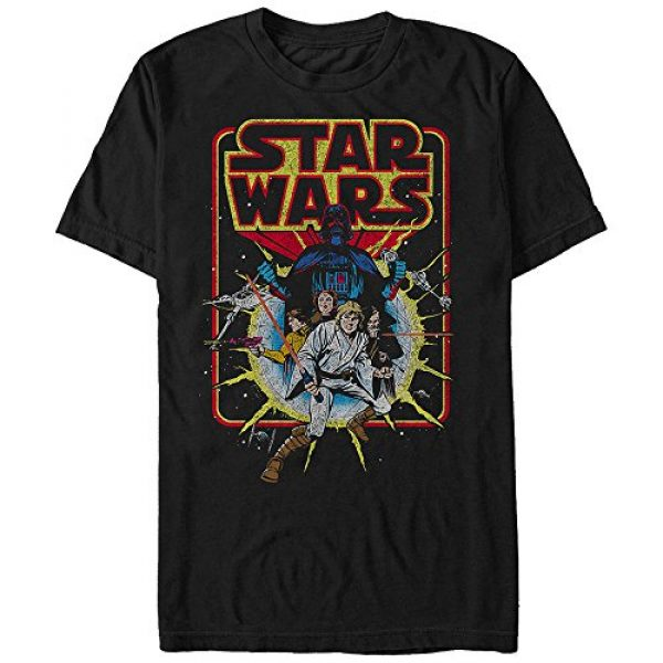 Star Wars Graphic Tshirt 1 Men's Old School Comic Graphic T-Shirt