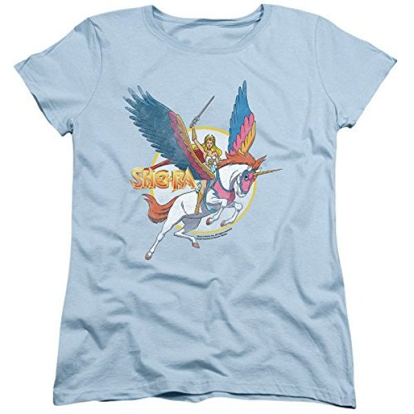 Popfunk Graphic Tshirt 1 She-Ra and Swiftwind Women's T Shirt & Stickers