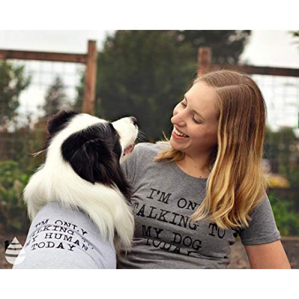 Crazy Dog T-Shirts Graphic Tshirt 2 Womens Only Talking to My Dog Today Funny Shirts Dog Lovers Novelty Cool T Shirt