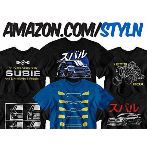 STYLN Graphic Tshirt 3 Subie Fifth Generation Blue T-Shirt