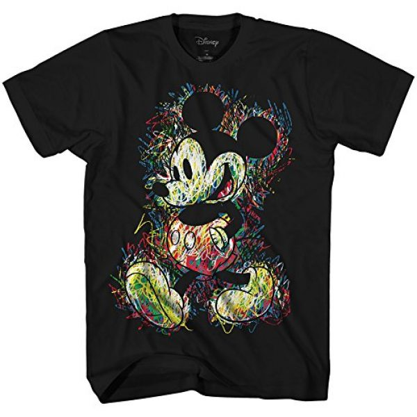 Disney Graphic Tshirt 1 Mickey Mouse Scribbles Disneyland World Funny Humor Adult Tee Graphic T-Shirt for Men Tshirt