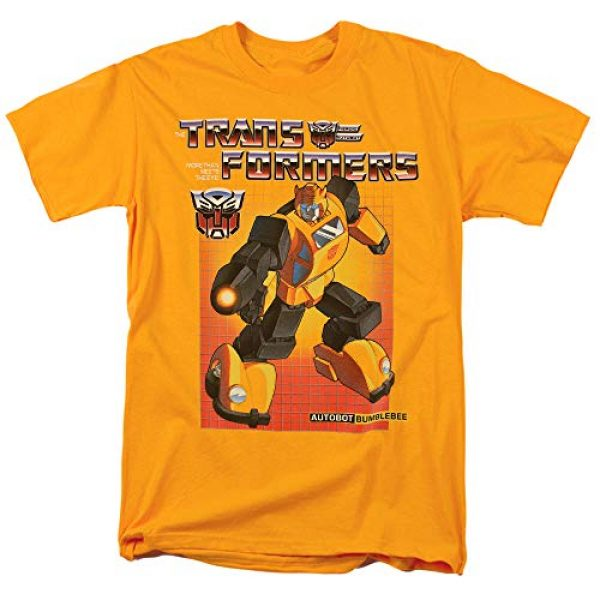 Popfunk Graphic Tshirt 1 Transformers Bumblebee T Shirt & Stickers