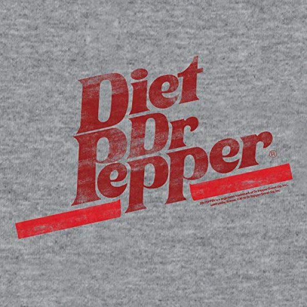 Tee Luv Graphic Tshirt 2 Diet Dr Pepper T-Shirt - Distressed Dr Pepper Logo Shirt