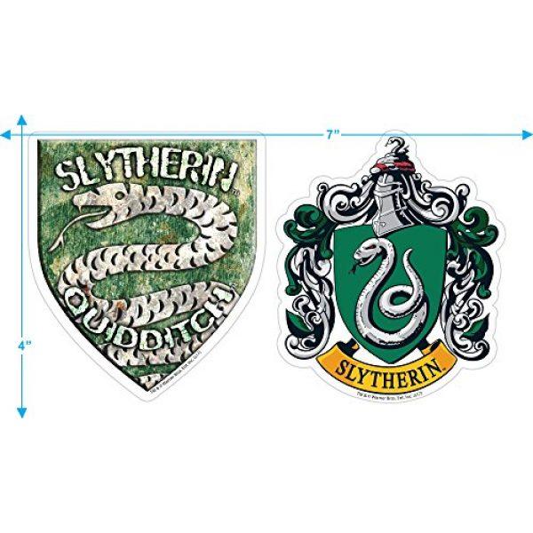 Popfunk Graphic Tshirt 3 Harry Potter Hogwarts Slytherin Logo Adult T Shirt & Stickers
