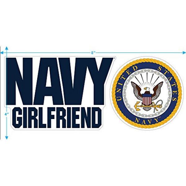 Popfunk Graphic Tshirt 3 U.S. Navy Girlfriend T Shirt & Stickers
