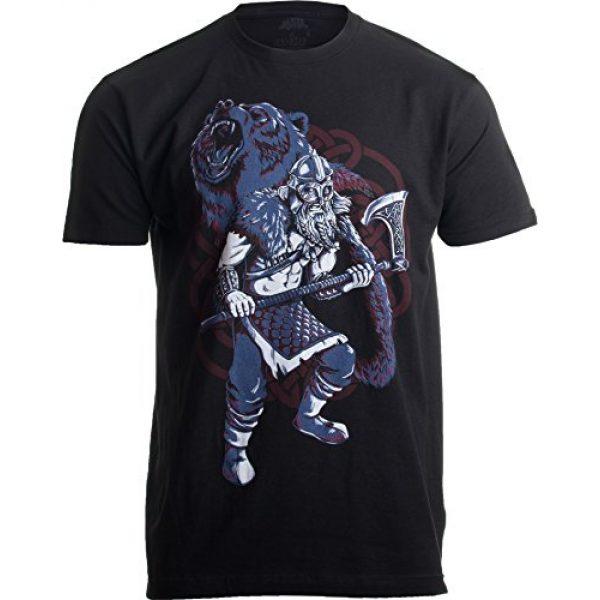Ann Arbor T-shirt Co. Graphic Tshirt 1 Viking Berserker, Bear Spirit | Valhalla Norse Nordic Mythology Warrior T-Shirt